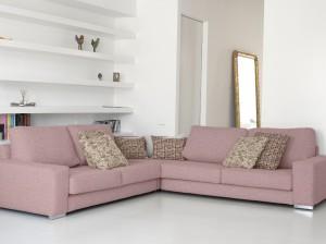 sofa rosa